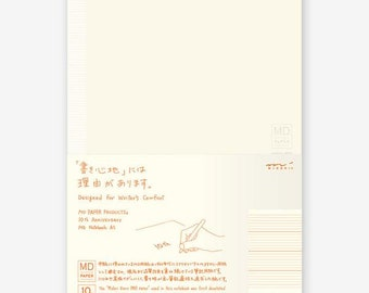 Midori MD Notebook - 10th Anniversary Edition - A5 - Lined with Sections