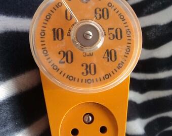 Vintage timer electricity Safety timer Old USSR timer for turn off the electrical appliances Kitchen improvement