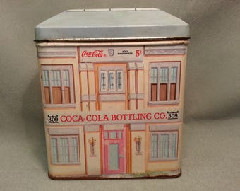 Coca Cola Bottling Company Tin from the Bristolware Collection