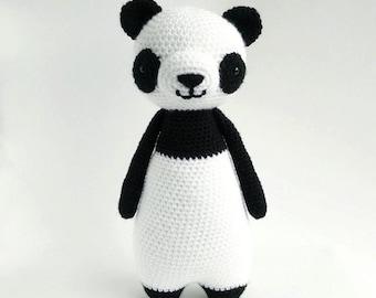 Panda Crochet Amigurumi Pattern