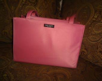 Pink Nylon Kate Spade Shoulder Bag
