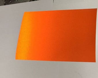 Reflective Vinyl Sheets, Plastic Sheeting, Adhesive Coated,  Choose Your Size and Colors