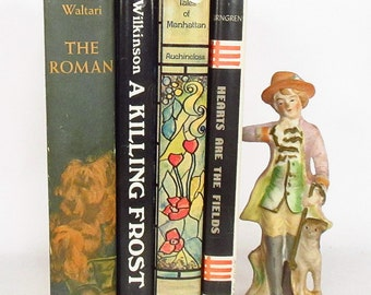 """Group of 4 Novels with Good Dust Jackets - 1960""""s"""