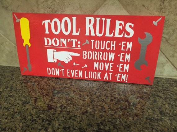 Man Cave Rules Signs : Funny man cave signs the best