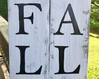 Rustic Fall Sign