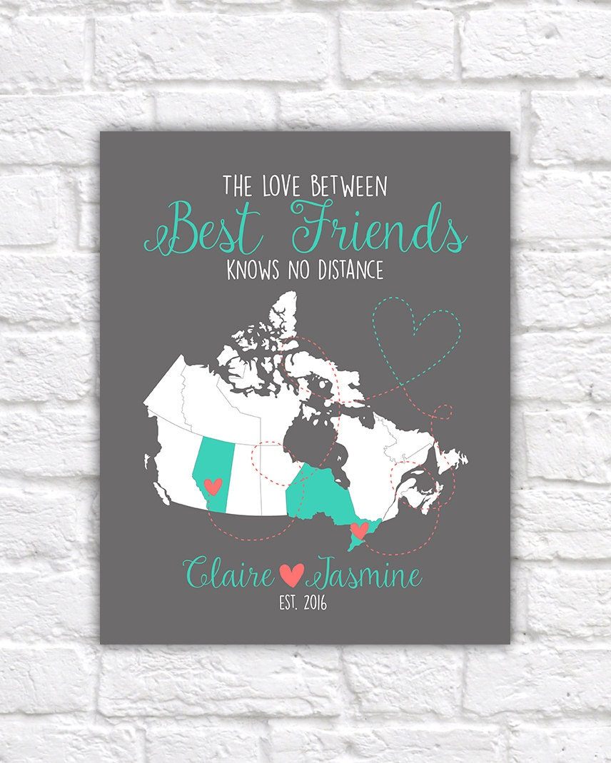 Canada map best friend gift canadian provinces ontario zoom gumiabroncs Gallery