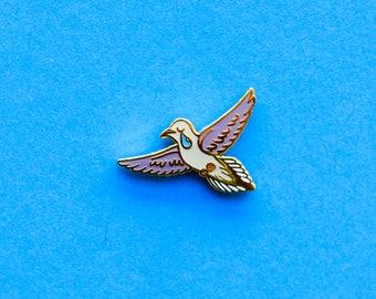 Mourning Dove Enamel Pin