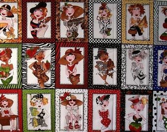 SEW CREATIVE panel by Loralie Designs, 100% cotton  (#D/93X)