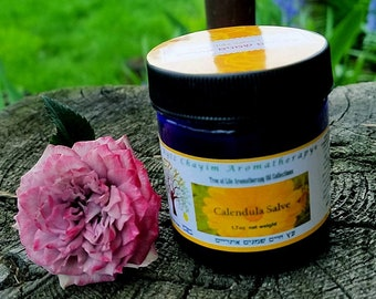 Calendula Salve 1.7 oz Blue Jar