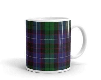 Hunter Scottish Tartan Clan Mug Two sizes! Printed-to-order in the U.S.A.
