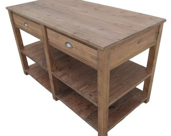 Table, Kitchen Island, Reclaimed Wood, Wood Table, Kitchen Table