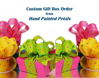 Custom Order for T:  560 Kraft Flute Boxes with Tissue Paper
