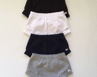 NEW for Summer!! Solid Knit Shorties/Infant Shorties ONLY/Toddler ShortiesONLY