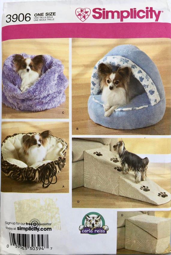 Dog Bed Sewing Pattern, Dog Ramp Pattern, Simplicity Sewing Pattern ...