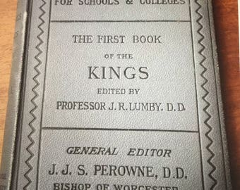 Antique - First Book of the Kings - 1892