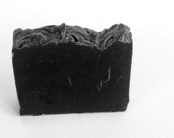 Activated charcoal soap, all natural unscented soap, detox soap,  face soap,all natural soap, unscented soap, detox  soap
