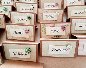 Wedding Place Cards | Etsy UK