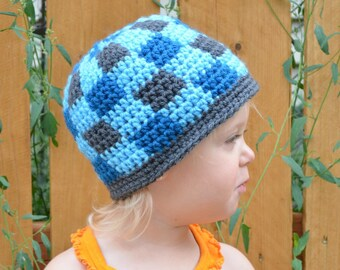 Gingham Patchwork Hat