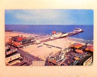 Vintage Postcard Atlantic City, NJ Steel Pier