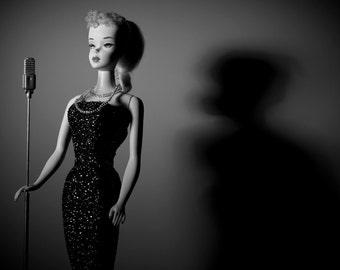 Spotlight Barbie Fine Art Photograph