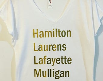 Hamilton Squad Goals Tee