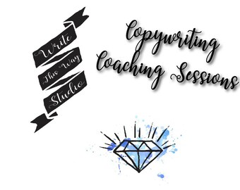 Hourly Copywriting Coaching Sessions - Write This Way Studio - Copywriting - Writing Services - Coaching - Consulting - Business Services
