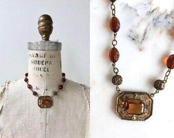 Edititha necklace | vintage 1920s necklace | antique 20s necklace