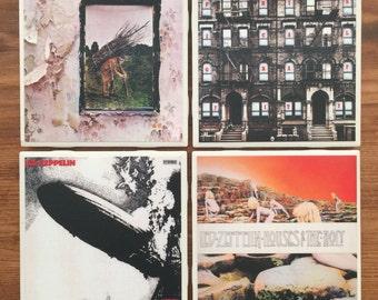 Led Zeppelin Album Cover Coasters