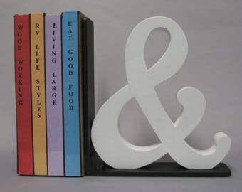 Ampersand Bookend - Color Choices