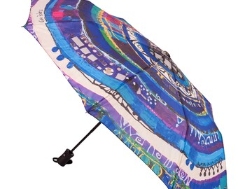 BiggDesignEvil Eye Mini Umbrella