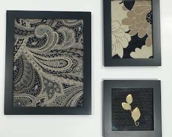 Fabric Art Wall Accent
