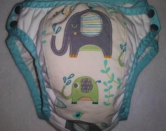 Potty Training pants with Elephants