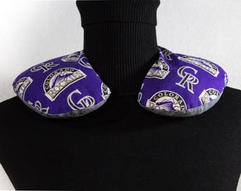 Corn Bag Microwavable Heating Pad Hot Pack Cold Pack Therapeutic Wrap Colorado Rockies