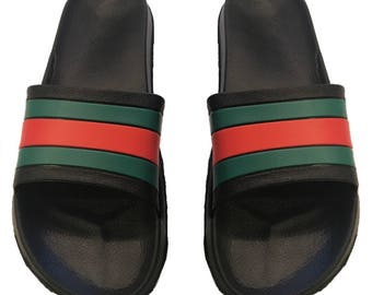 Mens Gucci Inspired Slides sizes 7 8 9 10 11 12