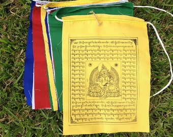 Zambala Tibetan Prayer Flags From Nepal (Set of 10 Flags)