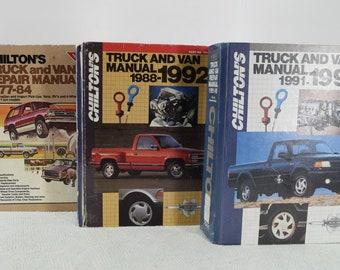 Chilton's Truck and Van Repair Manuals 1977 to 1995
