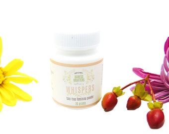 Whispers Talc Free Feminine Powder - Dusting Powder - Body Powder - Natural Body Powder - Clay Powder - Deodorant Powder - 20 grams or 2 oz