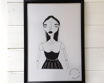 IN LOVE with BLACK Illustration