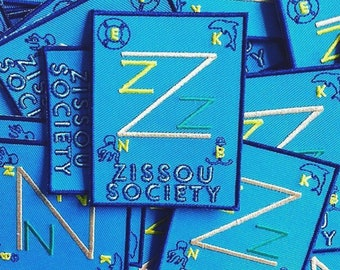 Zissou Society inspired fan patch