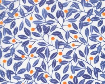 Alena Blue - Elliot Avenue - Kirsten Sevig - Cloud 9 Fabrics 100% ORGANIC Cotton BATISTE