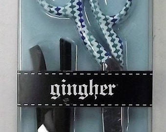 """Gingher 220522 Limit Edition Barbara Designer 8"""" Knife Edge Dressmaker Scissors"""