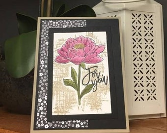 Love Card- Flower