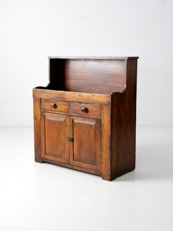 Like this item? - Antique Dry Sink Primitive Wooden Cabinet