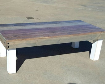Reclaimed Wood Coffee Table   Rustic Table   Farmhouse Coffee Table    Farmhouse Furniture   Farmhouse Decor