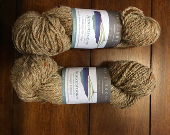 THE FIBRE CO. Arranmore 2 skeins, in the color Cronan!  Worsted -Aran Weight
