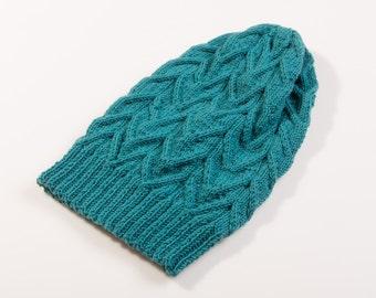 sale!!Knit merino wool hat