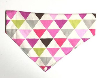 Pink Triangles Bandana