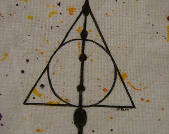 Tote bag the Deathly Hallows