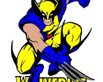 Wolverine Unofficial SVG