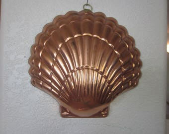 COPPER SEASHELL JELLOMOLD